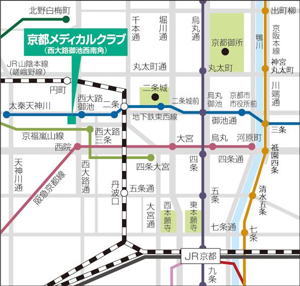 京都メディカルクラブMAP